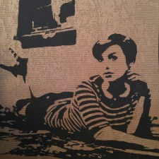 The New Holly Golightly (4' X 4' cardboard relief) $300