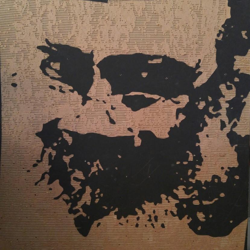 Art (4' X 4' cardboard relief) $150