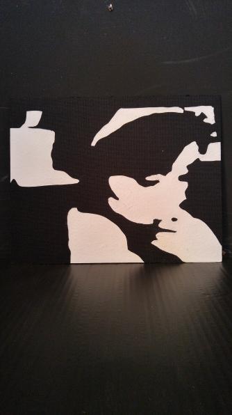 Pensive (Mat Board Relief) $20
