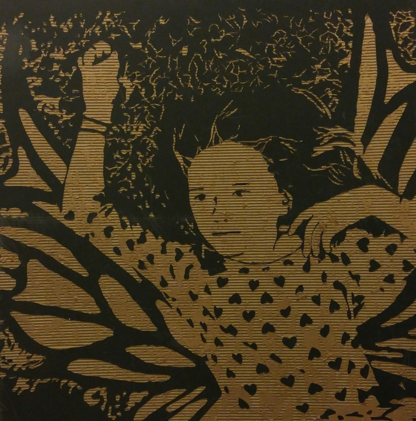 Fairies are real (4' X 4' cardboard relief) $300
