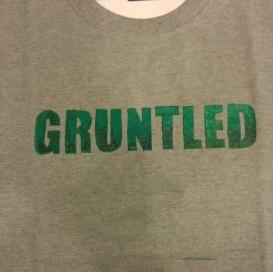 Gruntled (Screen Print) $12