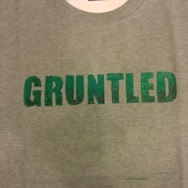Gruntled (Screen Print) $12