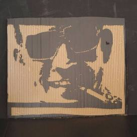 Fear and Loathing(Small cardboard relief