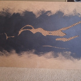 Landscape(Small cardboard relief)