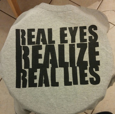Real Eyes (Screen Print) $12