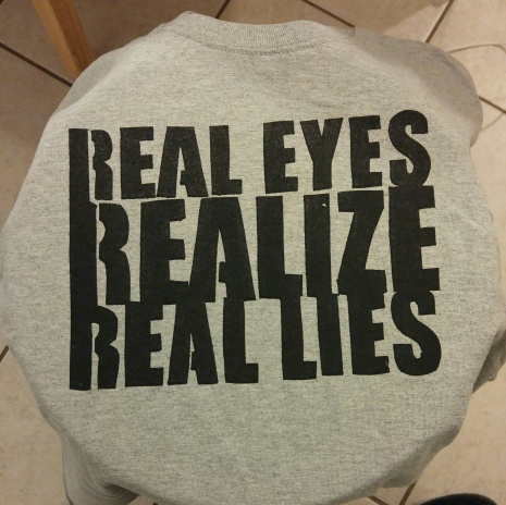 Real Eyes (Screen Print) $12