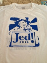Jed! (Screen print) $12