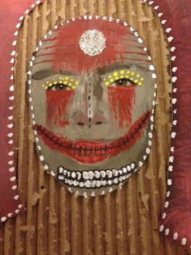Queen of Smiles. (Mixed media) $12