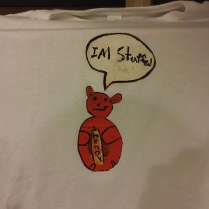 I Am Stuffed (Screen Print) $15